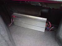Longmill Puritain II - 4 Channel Car Amp