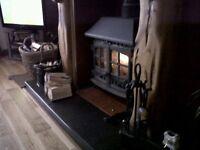 Hunter hearld multi fuel stove