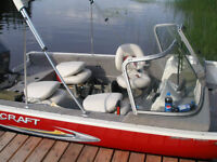 Boat with 75 Hp engine