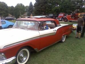 1957 Ford Fairlane Hardtop Retractable