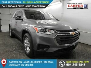 2019 Chevrolet Traverse LS AWD - Rear View Camera - Bluetooth...