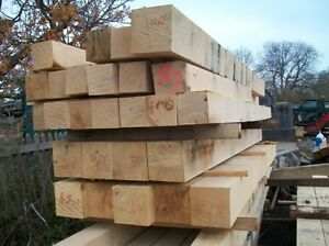 New Green Oak Fence Posts *Structural Grade* VAT Included 150x150x2400mm