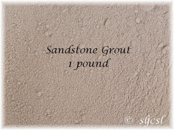 TEXAS SANDSTONE GROUT ~ 1 & 2  LB * Mosaic Tile TILES