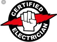 Cert. Red Seal Electrician, 15 yrs experience available anytime