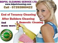 Short Notice - End of Tenancy - After Builders Cleaning - Carpet cleaning- Stream Clean
