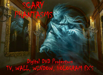 Digital Phantasms In The Window Halloween Decorations & holograms Projector FX](Halloween Hologram Projector)