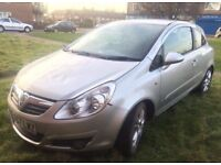 VAUXHALL CORSA SXI 1.4 3 DOOR 2007/07 LOW MILAGE/ not polo golf Astra or vw Ford Fiesta or Focus