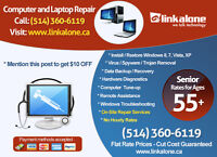 PC Laptop Repair, IT Services, Network Support - Call Now!