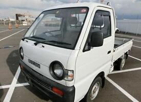 SUZUKI CARRY PICK UP TRUCK 4X4 4WD LEZ * ONLY 8507 MILES * CHOICE OF TWO