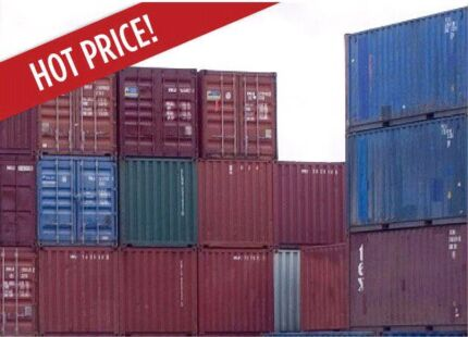 FREE DELIVERY! TWO x 20' Containers 450km ex-Perth  IDEAL STORAGE