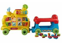 Vtech sit to stand alphabet train