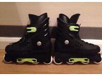Pair of ladies / Ladies / Girls Inline Roller Skates UK Size 4/5