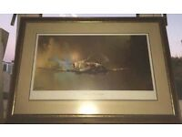 Limited edition spitfire print