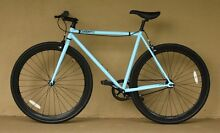 Free Shipping | 54cm Blue & Black Single Speed Bike Adelaide CBD Adelaide City Preview