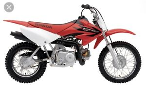 Wanted crf70