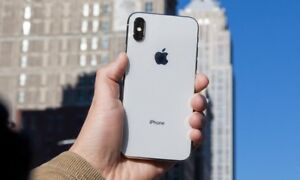 Like New iPhone X White/Silver 64GB