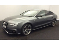 Grey AUDI A5 HATCHBACK 1.8 2.0 TFSI Petrol SPORT S LINE  FROM £88 PER WEEK!