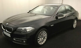 Black BMW 520d Luxury Auto Diesel 2013 FROM £51 PER WEEK!