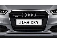 JA59 CKY NetPlates Personalised Cherished Car Registration Plate Private Number Plate BMW AUDI JAG