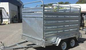 10x6 Stock Trailer Cattle Sheep Livestock Crate Heavy Duty Halls Head Mandurah Area Preview
