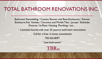 Total Bathroom Renovations Inc.  ( TBR )