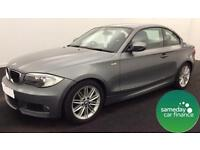 ONLY £213.73 PER MONTH GREY 2012 BMW 118D 2.0 M SPORT COUPE 2 DR DIESEL MANUAL