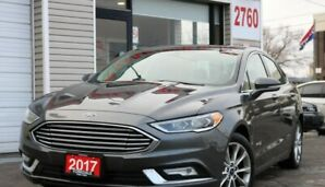2017 Ford Fusion SE LEATHER, CAMERA, NON ACCIDENTS