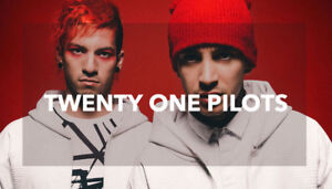 Twenty One Pilots May 28 & 29  GA.....FLOOR!