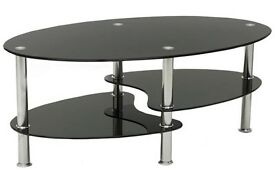Stylish glass table brand new