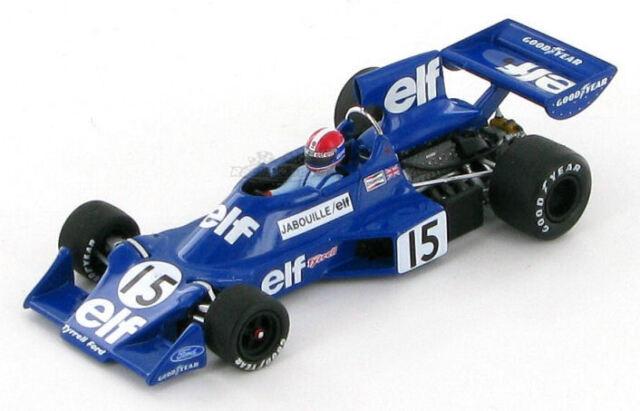 Tyrrell Ford 007 Jean-Pierre Jabouille 1975 1:43
