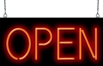 Open Neon Sign Jantec 3 Sizes Cafe Diner Restaurant Spa Store