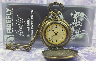 FireFly Serenity Shepherd Book Exhibition Pocket Watch Limited Edition Metal ver - Firefly Firefly Firefly