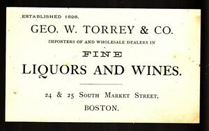 34319-LATE-1800s-TORREY-CO-LIQUORS-WINES-MARKET-ST-BOSTON-CALLING-CARD