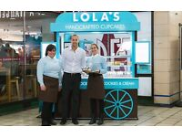 (HIGH STREET KENSINGTON) LOLA'S CUPCAKES - Join our team for a great career ! (full time)