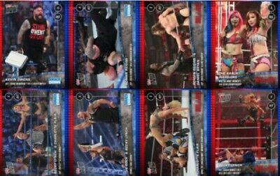 TOPPS WWE SLAM TOPPS NOW FRIDAY NIGHT SMACKDOWN / HELL IN A CELL 8 CARDS BECKY +