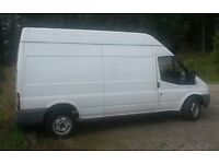 Ford Transit LWB Hi Top T350L RWD panel van, 2008 regisration
