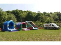 Bouncy castle business, well established, based from home, relocatable