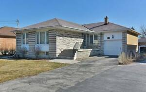Whole bungalow house+basement for rent in north york
