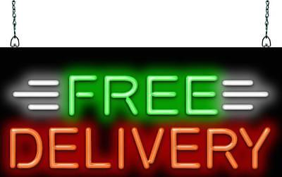 Free Delivery Neon Sign Jantec 3 Sizes Restaurant Pizza Real Neon
