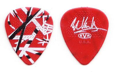 Eddie Van Halen Signature Red Frankenstrat Guitar Pick - 2015 Tour