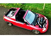 Twin engine twin turbo 4wd honda civic crx delsol jdm rhd AWD VTEC eg dc2 rare modified drag drift