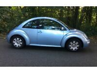 VW beetle 2005 drives really well