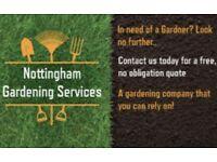 Nottingham's no. 1 gardening service