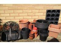 Plastic Garden Pots