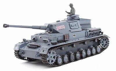 2.4Ghz Radio Control 1/16 German Panzer IV F2 RC Airsoft Tank w/Sound Smoke RTR