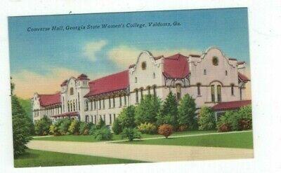 GA Valdosta Georgia antique linen post card State Women's College Converse Hall, used for sale  Bemidji