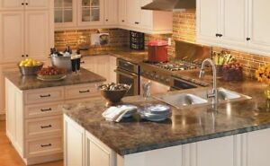 LAMINATE COUNTERTOPS MANUFACTURE AND INSTALLATION