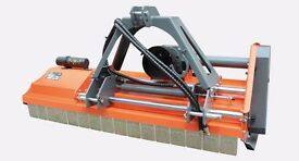Flail Mower from £1,095 + VAT INC DELIVERY Lots of different sizes.