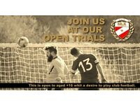 JOIN US AT OUR OPEN TRIALS