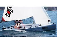 Topper Topaz sailing dinghy - UNO Plus version